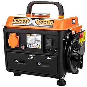 Cross Tools 68030CPG 800generatore a Benzina generatore di Corrente Generatore 1,5KW 51MNSnPI66L. SS300
