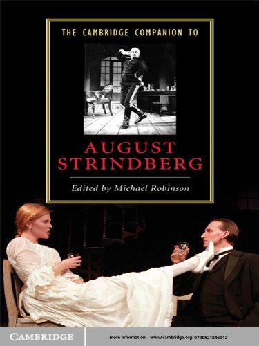 The Cambridge Companion To August Strindberg  Cambridge Companions To Literature   English Edition