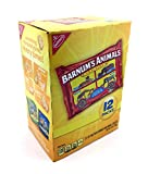 Barnum's Mini Animals Crackers 12 Pack Box, 12 Ounces Net Weight