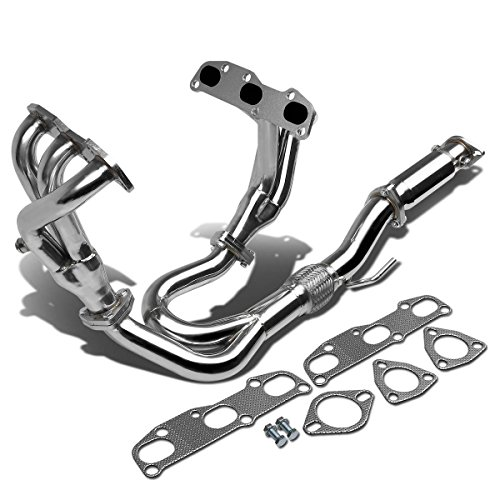 (For Nissan Altima High Performance 3-1 Design 2-PC Stainless Steel Exhaust Header Kit)