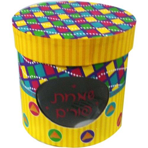 Purim Gift Basket Oval Cardboard