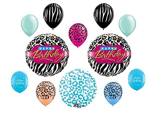 (Miss Diva Birthday Balloon Bouquet~ 12ct)
