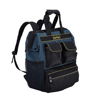 eeaf4670de Baffect Sac à dos d'outil avec l'organisateur d'outil, sac à outils ...