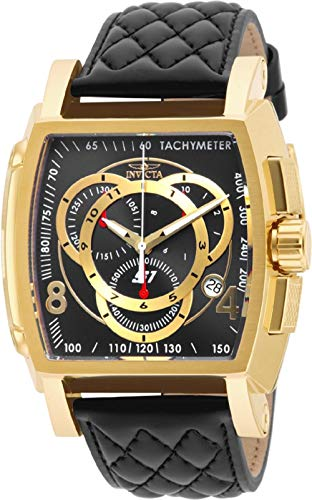 Invicta Men's 15796 S1 Rally Analog Display Swiss Quartz Black Watch (Invicta Watches For Men Tonneau)