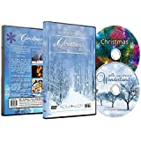 Christmas DVD - Christmas Collection Videos of Falling Snow, Christmas Lights & Fireplaces