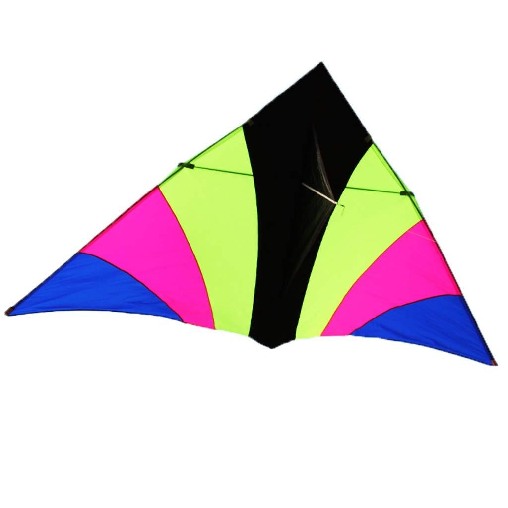 屋外の凧、大きく多彩な三角形の凧公園の大人の滑らかな初心者の飛行おもちゃ、270 C* 150CM A) (色 (色 : A) B07RJMMFJZ C C, アーバンタイヤプロデュース:fc3fc35e --- ferraridentalclinic.com.lb