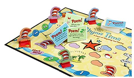 Amazon.com: Dr. Seuss Rhyme Time: A Game of Rhyming and Poetry ...