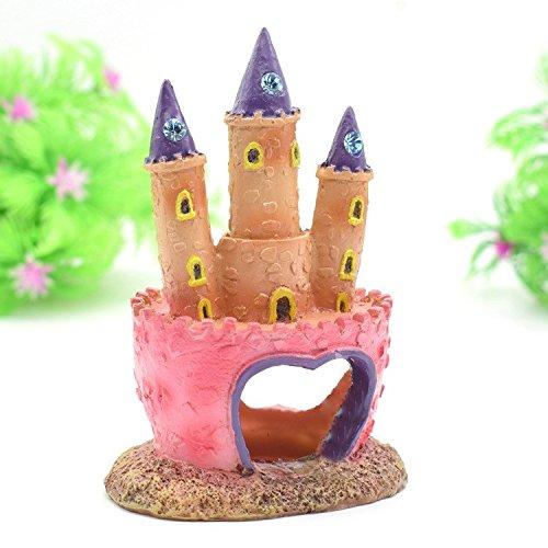 Pet Online Pesce serbatoio decorazione Re di Castello Castello Castello di castello rockery simulazione acquario acquario ornamento, 7  6  12cm c6a62d