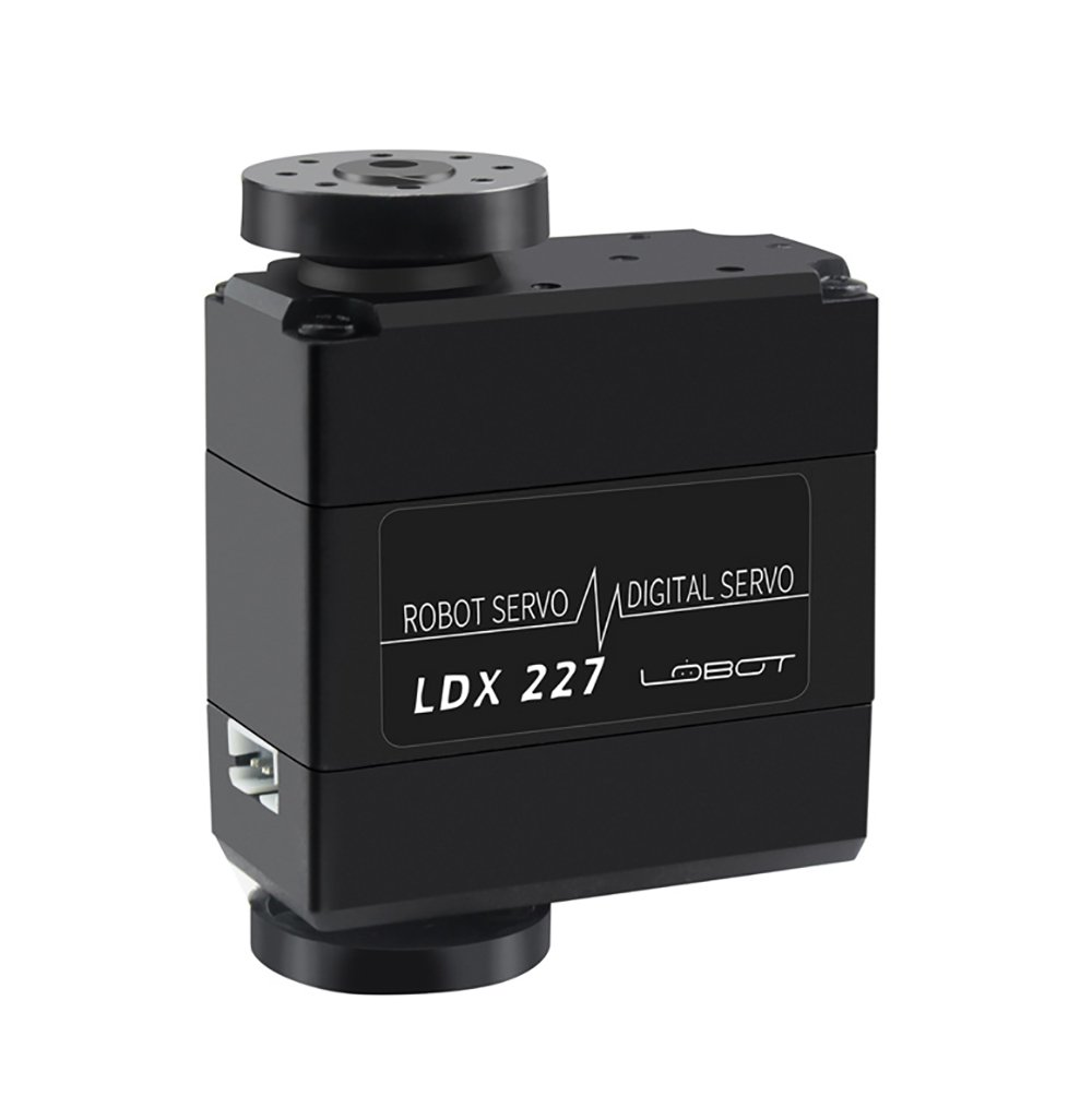 LewanSoul LDX-227 Full Metal Gear Standard Digital Servo with 17kg High Torque Dual Ball Bearing for RC Car Robot Control Angle 270