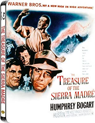 The Treasure of the Sierra Madre Steelbook - Limited Edition Steelbook [Blu-ray] (Region Free)