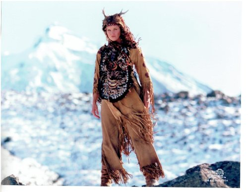Xena Warrior Princess Outdoors Indian Outfit Mountains 8x10 Photo Lucy (Xena Outfit)