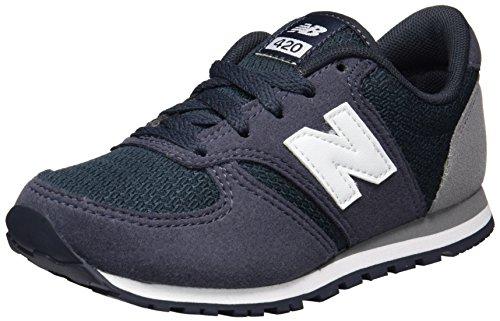 New Balance 420, Zapatillas Unisex Niños Azul (Navy/grey)