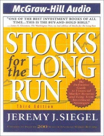 FOR THE JEREMY STOCKS RUN LONG SIEGEL