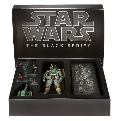 Star Wars Black Series Comic Con 6 Boba Fett And Han Solo In Carbonite by Hasbro