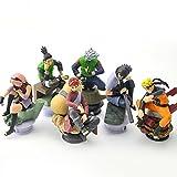 Game, Fun, 6pcs/lot 9.5cm Naruto Chess Action Figures Toys New Sasuke Naruto Shippuden Uzumaki Hinata Madara Kakashi Model Toy, Toy, Play