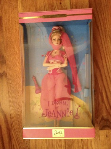 Barbie I DREAM of JEANNIE DOLL w COA, Display STAND & More COLLECTOR EDITION Doll - Jeannie Doll