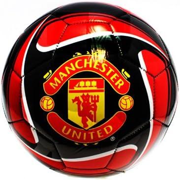 Rhinox Manchester United Tornado balón de fútbol tamaño 5 (Rojo ...