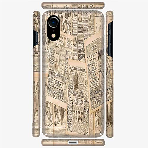 - Phone Case Compatible 3D Printed iPhone X/XS DIY Fashion Picture,Advertising Fashion Magazine Woman,Personalized Designed Hard Plastic Cell Phone Back Cover Shell Protective