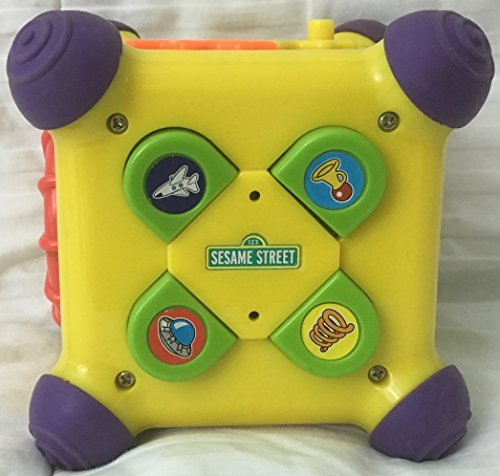 SESAME STREET MUSICAL SILLY SOUNDS ACTIVITY LEARNING SYSTEM CUBE