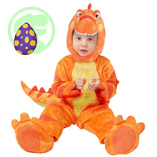 Spooktacular Creations T-Rex Costume (18-24 Months) Orange