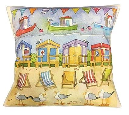 """Diseño de casetas de playa – en el mar – Emma Ball – 16 """""""