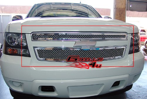 APS Fits 2007-2014 Chevy Tahoe/Suburban/Avalanche Mesh Grille Insert #C76451S -