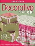 No Sew, Low Sew Decorative Storage, Carol Zentgraf, 0873498895