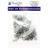Threadart SS6 (2mm) Aquamarine Hot Fix Rhinestones 10 Gross (1440/pkg) Hotfix - Iron on - Hot Fix