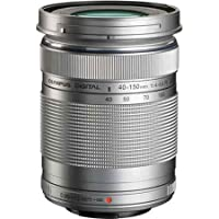 Olympus M.ZUIKO 40-150mm F4.0-5.6 R Zoom Lens for Olympus and Panasonic Micro 4/3 Cameras - Silver (Certified Refurbished)