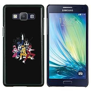 """Be-Star Único Patrón Plástico Duro Fundas Cover Cubre Hard Case Cover Para Samsung Galaxy A5 / SM-A500 ( Power Range Superheroes"""" )"""