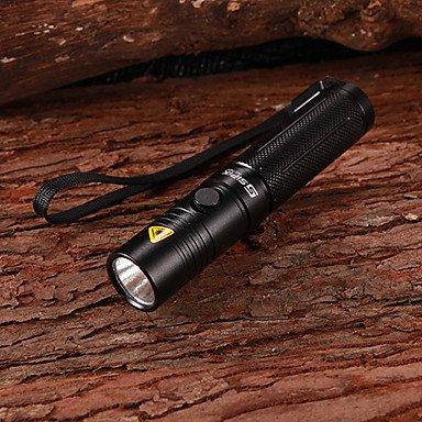 SIPIK HK21 18650 Cree Q3-WC 3-Mode 160Lumen White LED Flashlight with Strap (1x18650)