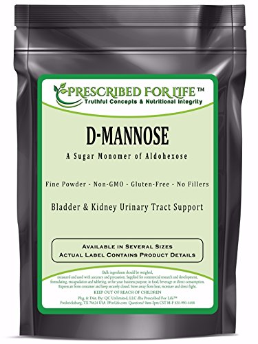 D-Mannose Powder - Natural Urinary Tract and Bladder Support, 2.5 lb by Prescribed For Life