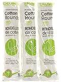 Delon 100% Cleansing Cotton Rounds, 300 Count