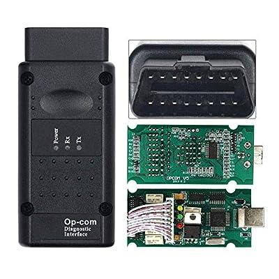 XZANTE Outil De Diagnostic pour OP COM OP-COM Pic18F458 Firmware Opcom V1.99