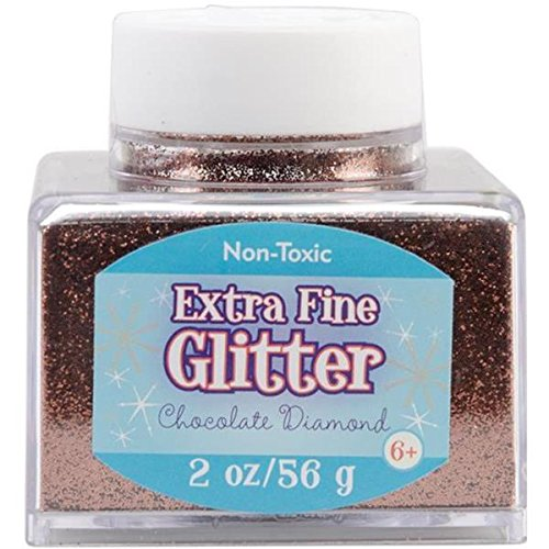 Sulyn 2oz. Glitter Stacker Jar - Chocolate Diamond SUL50870