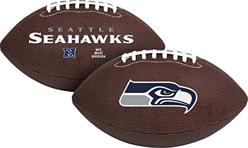 Rawlings Official NFL Air It Out Gametime Football, Youth Size, Seattle Seahawks