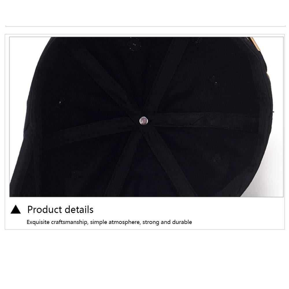 Amazon.com : Jenify Men Classic Baseball Cap, Dad Hat Adjustable Cotton Soft Golf Caps Sports, Black : Sports & Outdoors