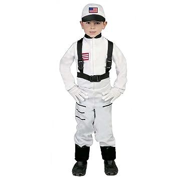 Amakando Traje Viajero Espacial Disfraz Astronauta Infantil L 140 ...