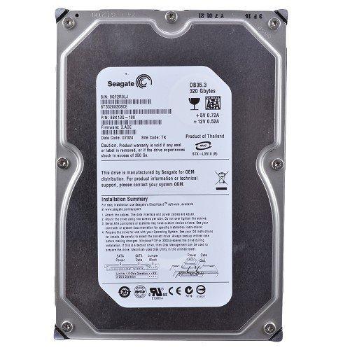Seagate DB35 Series 7200.3 ST3320820SCE 320GB 7200 RPM 8MB Cache SATA2 3.5