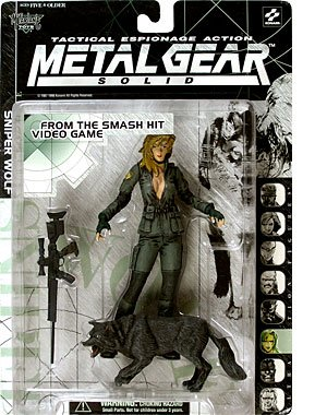 Gear Toys Metal (Metal Gear Solid > Sniper Wolf Action Figure)
