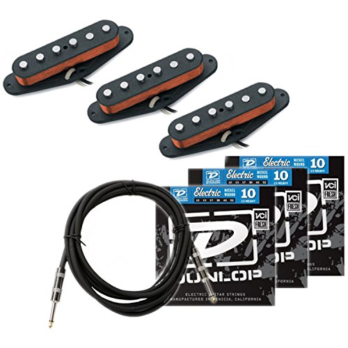 Seymour Duncan California '50s Pickup Set (SSL-1) w/ 3 Sets of Strings and Cable