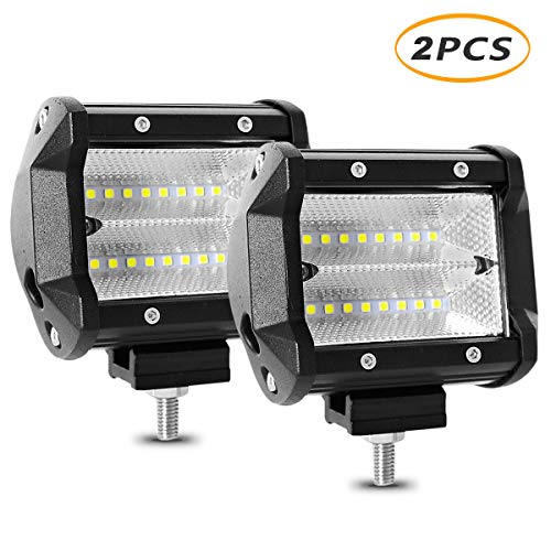 LED-Pods-LED-Light-Bar-4-48W-Quad-Row-LED-Flood-Work-Light-LED-Cubes-Driving-Fog-Lamps-Off-Road-Lights-for-Trucks-Pickup-Jeep-SUV-ATV-UTV-LED-Boat-Light-YEEGO