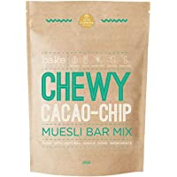 Chewy Cacao Chip Muesli Bar Mix (Vegan, Wheat Free)