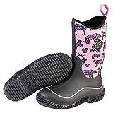 Muck Boot Kid's Hale Waterproof Boots, Black, Neoprene, Rubber, Mesh, 10 Toddler M