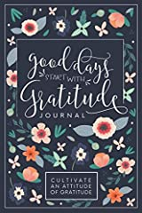 Good Days Start With Gratitude is a 52 week guide to cultivate an attitude of gratitude! It is a self exploration journal designed to focus on being thankful for what we have, the big things in life, as well as the simple joys. Each well desi...