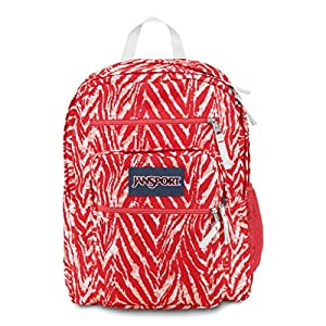Jansport Big Student Backpack - Coral Peaches Wild at Heart