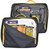 Portable Spill Kit 2 Pack: 1 Universal & 1 Oil Only. Each Kit contains 20 Sorbent Pads, 3 Sorbent Socks, Disposal Bags, Goggles and Chemical Gloves. Bonus ERG w/Oil Only Kit. Packed in 2 HD Nylon Bags