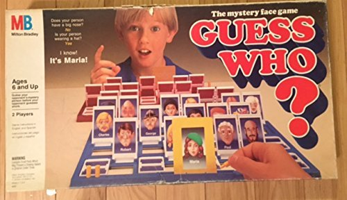 Guess Who Board Game 1991 Edition