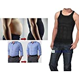 MCNICK Men's Compression Shirt Undershirt Slimming Man Bra