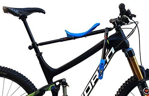 Mac Ride Front Mounted Child Bike Seat - Blue